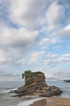 Playa del Camello, Santander. Cantabria, Spain