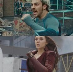 Like Brother, Like Sister || Quicksilver & Scarlet Witch AOU