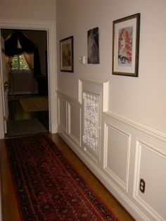 5 Simple and Impressive Tips Can Change Your Life: Wainscoting Height Foyers wainscoting styles house.Wainscoting Height Foyers wainscoting around windows crown moldings. Wainscoting Height, Black Wainscoting, Wainscoting Nursery, Wainscoting Kitchen, Painted Wainscoting, Dining Room Wainscoting, Wainscoting Panels, Wainscoting Ideas, Dining Room Blue