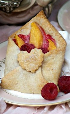 Special Delivery Fruit and Pastry Envelope - what a beautiful and delicious gift!