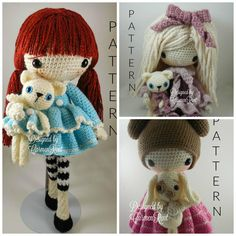 ATTENTION - Keep in mind that this is a crochet pattern in a PDF. This is NOT the finished product. January, February and March are approximately 17 inches tall. Also, please keep in mind that these dolls cannot stand up on its own. This is a non-refundable purchase. Once the payment