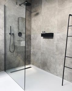 Cindy van der Heyden on Finally found the perfect bath shelf for our bathroom nichba_design Bathroom Layout, Modern Bathroom Design, Bathroom Interior Design, Bathroom Ideas, Bathroom Organization, Bathtub Ideas, Bathroom Showers, Bathroom Storage, Bathroom Cabinets