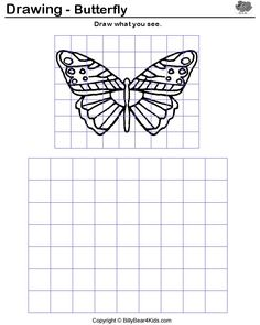 Printables Grid Art Worksheets free printable activities and art on pinterest how to enlarge a drawing using grid google search