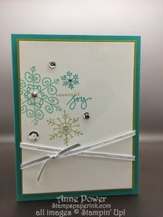 Stamps, Paper, Ink Create!: Card Five Very Merry Stamp Camp Endless Wishes