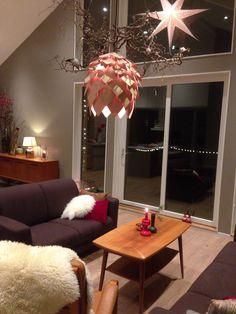 Jul i stuen  Livingroom Chandelier, Ceiling Lights, Lighting, Home Decor, Candelabra, Decoration Home, Light Fixtures, Room Decor, Ceiling Lamps