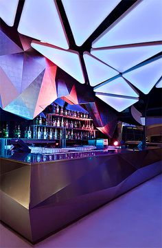 Bar Design | Interior Design | Night Club Design | night-club-design-bar-desk
