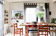 The holiday home of Simone and Rhys Haag and family on Phillip Island. Styling – Simone Haag. Photo – Derek Swalwell.
