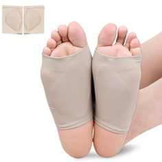 01968e480f 2Pcs=1Pair Foot Care Plantar Fasciitis Arch Support Cushion Pads Flatfoot Orthopedic  Insoles For Shoes