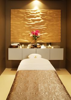Massage therapy room design ideas google search for Spa treatment room interior design