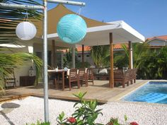 Very+beautiful,+modern+house+in+gated+resort+near+the+beaches+of+Jan+Thiel++++Vacation Rental in Curacao from Vacation Villas, Vacation Rentals, Vacation Homes For Rent, Barbados Travel, Luxury Homes, Swimming Pools, Cottage, Outdoor Structures, Patio