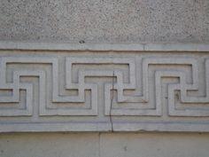 Paint simple Greek Ornamental patterns - File:03573 - Greca - Porta Venezia, Milano - Foto Giovanni Dall'Orto 23-Jun-2007.jpg