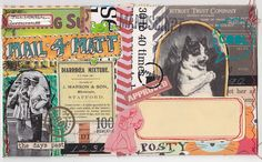 Mail Art6 by MadameO, via Flickr