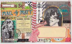 Mail Art6 by MadameO #postcard