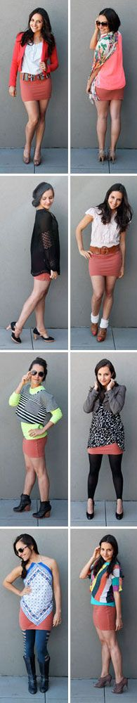 Which mini skirt look is your favorite?