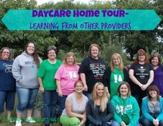 Daycare Home Tour- Learning from other providers.  :)