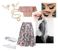 """""""Summertime 🌻"""" by coco1716 ❤ liked on Polyvore featuring Miss Selfridge, Vans and Fiebiger"""