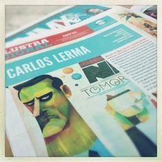 Primera entrega de Revista Picnic y El Periódico NMX #Fusión NMX por Ilustracional.