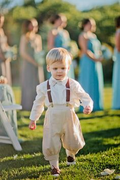 Dapper Lads. Ring Bearer. Knickers and bowtie.