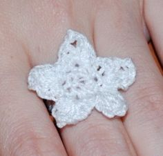 Nerble's Crochet - Crocheting a Star For a Ring