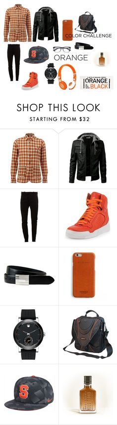 """""""Untitled #99"""" by splitmister ❤ liked on Polyvore featuring DNL, MASNADA, Givenchy, The British Belt Company, Shinola, Movado, Mobile Edge, NIKE, Hollister Co. and Beats by Dr. Dre"""