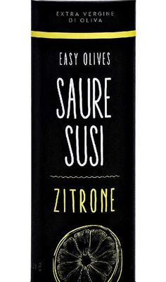 "EasyOlives Olivenöl mit Zitrone - ""Saure Susi"""