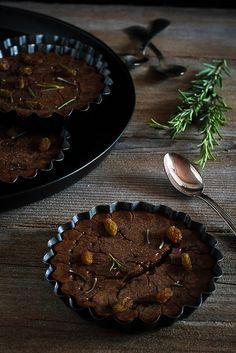 #Ricetta #castagnaccio a modo mio - Castagnaccio my way (recipe on Briciole Issue 1 - Autumn 2012) Photo © by Sonia Monagheddu