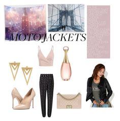 """""""NYC"""" by rudycastaneda-rc on Polyvore featuring Miss Selfridge, Graham & Brown, Massimo Matteo, Christian Dior, Chanel and Wet Seal"""
