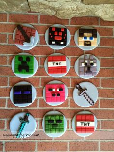 Minecraft Cupcake To