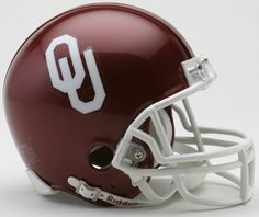 Old Ghost Collectibles - Oklahoma Sooners NCAA Riddell VSR4 Mini Football Helmet, $21.99 (http://www.oldghostcollectibles.com/oklahoma-sooners-ncaa-riddell-vsr4-mini-football-helmet/)