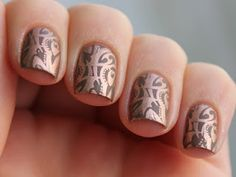Copper nail stamping