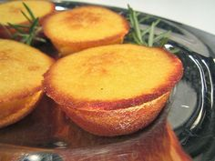 """Even better than all of my olive oil cakes are these little Portuguese Orange Cakes, also know as """"Bolinhos de Laranja"""". They are the pe. Alcoholic Desserts, Gourmet Desserts, Mini Desserts, Easy Desserts, Delicious Desserts, Strawberry Desserts, Plated Desserts, Health Desserts, Portuguese Desserts"""