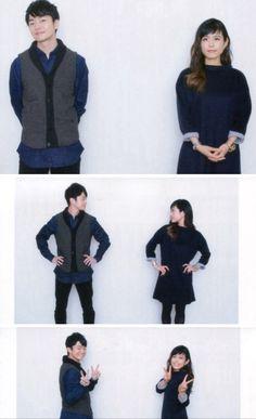 Fukuyama Jun & Sawashiro Miyuki from Durarara!! >.< //Shinra x Celty feels <3