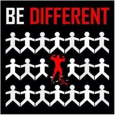 Be different. Gym Motivation | Fitness | Bodybuilding | Aesthetic | Workout