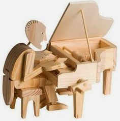 Buy TimberKits Pianist from BrightMinds. Leading UK Online Educational Kids Gifts and Childrens Toy Shop for TimberKits Pianist Pen & Paper, Rc Hobby Store, The Parking Spot Hobby, Timber Wood, Automata, Made Of Wood, Radio Control, Craft Kits, Wooden Toys
