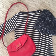 Marc by Marc Jacobs Crossbody Handbag Beautiful vibrant red bag with gold hardware. Used once and in perfect condition. Interior pockets. Medium sized bag. Marc Jacobs Bags Crossbody Bags