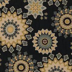 MARAIS - NIGHTFALL Nate Berkus Fabric Collection. Image: CalicoCorners.com #NateBerkus #Calico