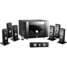 Pyle 7.1-channel Home Theater System With Bluetooth