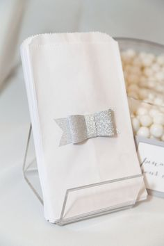 Dreamy White Candy Table at the ALT Cricut Lounge | The TomKat Studio