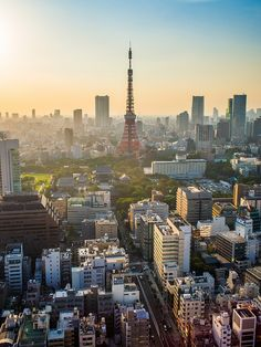 A beautiful shot of Tokyo! #agoda #travel