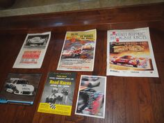 Vintage Porsche racing posters by MilliesAttique on Etsy