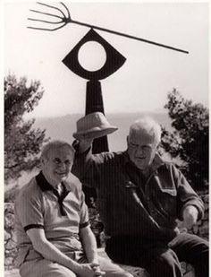 Joan Miro and Alexander Calder...
