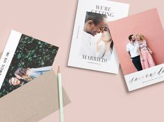 [The 5x7 Need We Say More Save The Date is printed on premium quality 100% recycled paper. Customize the design with your favorite photo and personalize it with all the details of your wedding day.]