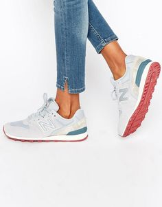New Balance | New Balance 996 Pastel Suede Trainers