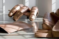 Danh Vo - We the People     reconstructed fragments of the statue of liberty