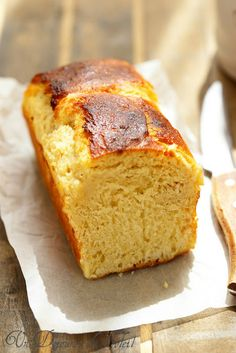 Leichte Brioche ohne zu kneten - Viennoiseries et boulange sucrée Croissant Breakfast Casserole, Sweet Recipes, Cake Recipes, Desserts With Biscuits, Bread And Pastries, Food Cakes, Bread Baking, Let Them Eat Cake, Sweet Bread