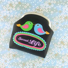 LAVISHY designs & wholesale original & beautiful embroidered bags, wallets, pouches & accessories for gift shop/boutique buyers in USA, Canada & worldwide. Embroidered Bag, Embroidered Flowers, Embroidery Motifs, Flower Embroidery, Bird Applique, Vegan Shopping, Vegan Gifts, Flower Bird, Makeup Pouch