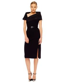 Michael Kors  High-Slit Crepe Dress -- I can tell my style is changing. I love this dress. YEAH!
