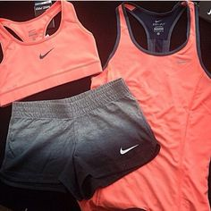 Workout outfit.