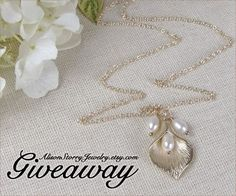 Jewelry #Giveaway! Enter to win $30 gift card to @alisonstorry by 11:59pm EST on September 30, 2014.