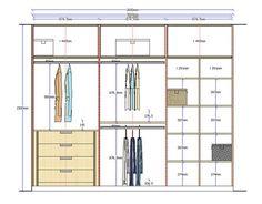 Planos de Roperos Construye tus proyectos con nuestros herrajes y Abrasivos: https://www.igraherrajes.com